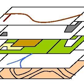 Raster- och vektordata